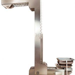 Elevador de Materiales Tipo Z (para Envasadora Vertical YB-ZT) - Comprar en China - Fábrica Visitada - Importador Directo - Mejor Precio