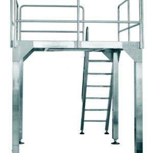 Plataforma de Báscula Electrónica (para Envasadora Vertical YB- JT) - Importador Directo - Fábrica China Verificada - Producto Garantizado