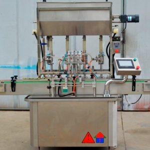 Máquina Automática de Llenado y Tapado YB-JG4 - Importador Directo - Fábrica China Verificada - Producto Garantizado