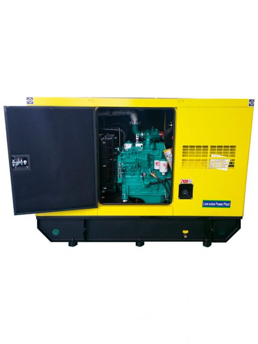 Generador Silencioso Cummins 30KVA - Importador Directo - Fábrica China Verificada - Producto Garantizado