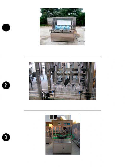 Máquina Llenado y Tapado de Botellas de 1 a 5 Litros - Importador Directo - Fábrica China Verificada - Producto Garantizado