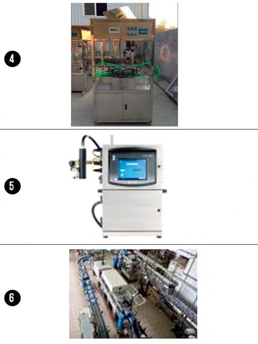 Línea Producción Sistema de Llenado y Envasado de Botella 6L y 10L - Comprar en China - Fábrica Visitada - Importador Directo - Mejor Precio