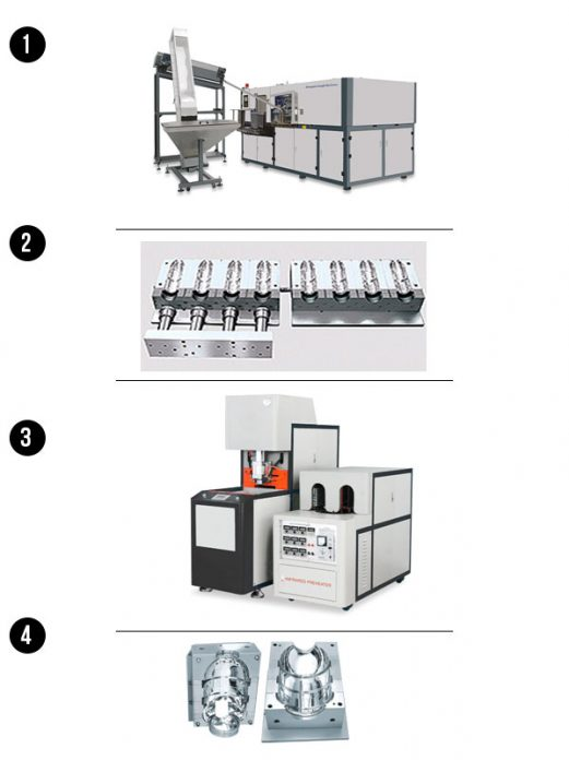 Sistema de Máquina de Moldeo por Soplado - Importador Directo - Fábrica China Verificada - Producto Garantizado