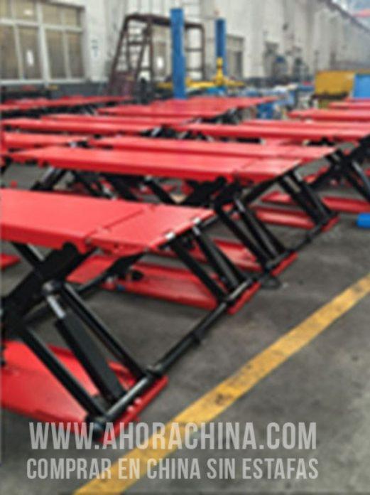 Elevador Portátil de elevación media de Tijera - Importador Directo - Fábrica China Verificada - Producto Garantizado