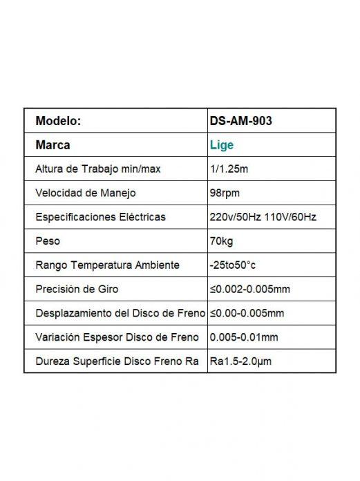 Torno Rectificador de Freno (tipo Pedestal) Alineador de Disco - Importador Directo - Fábrica China Verificada - Producto Garantizado