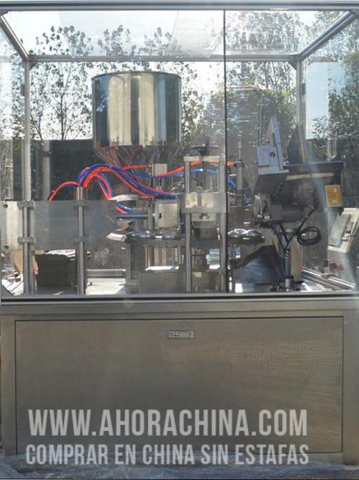 Máquina Automática de Llenado y Sellado (Pomos) YB-50FW